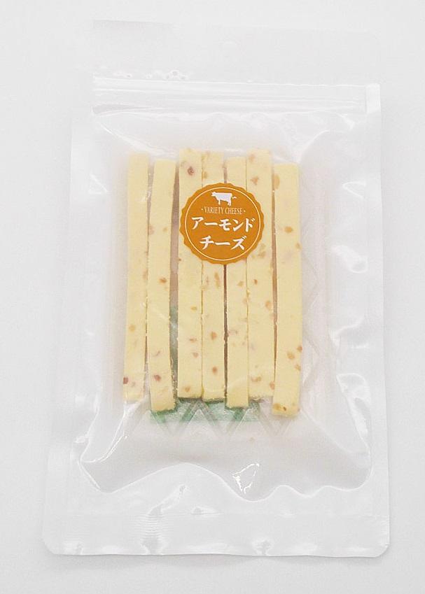 切出しチーズ アーモンド